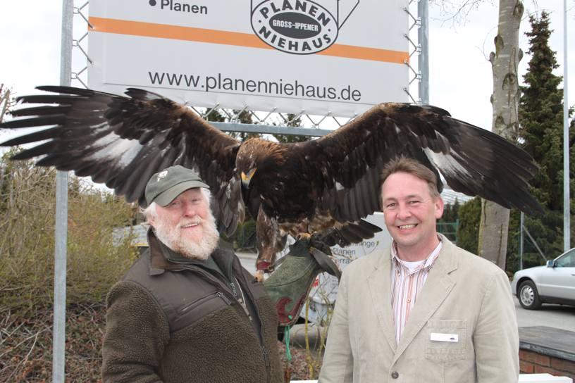 Tag der offenen Tür, vielen Dank Falknerei Manfred Haas