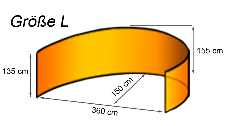 Windbreaker Größe L