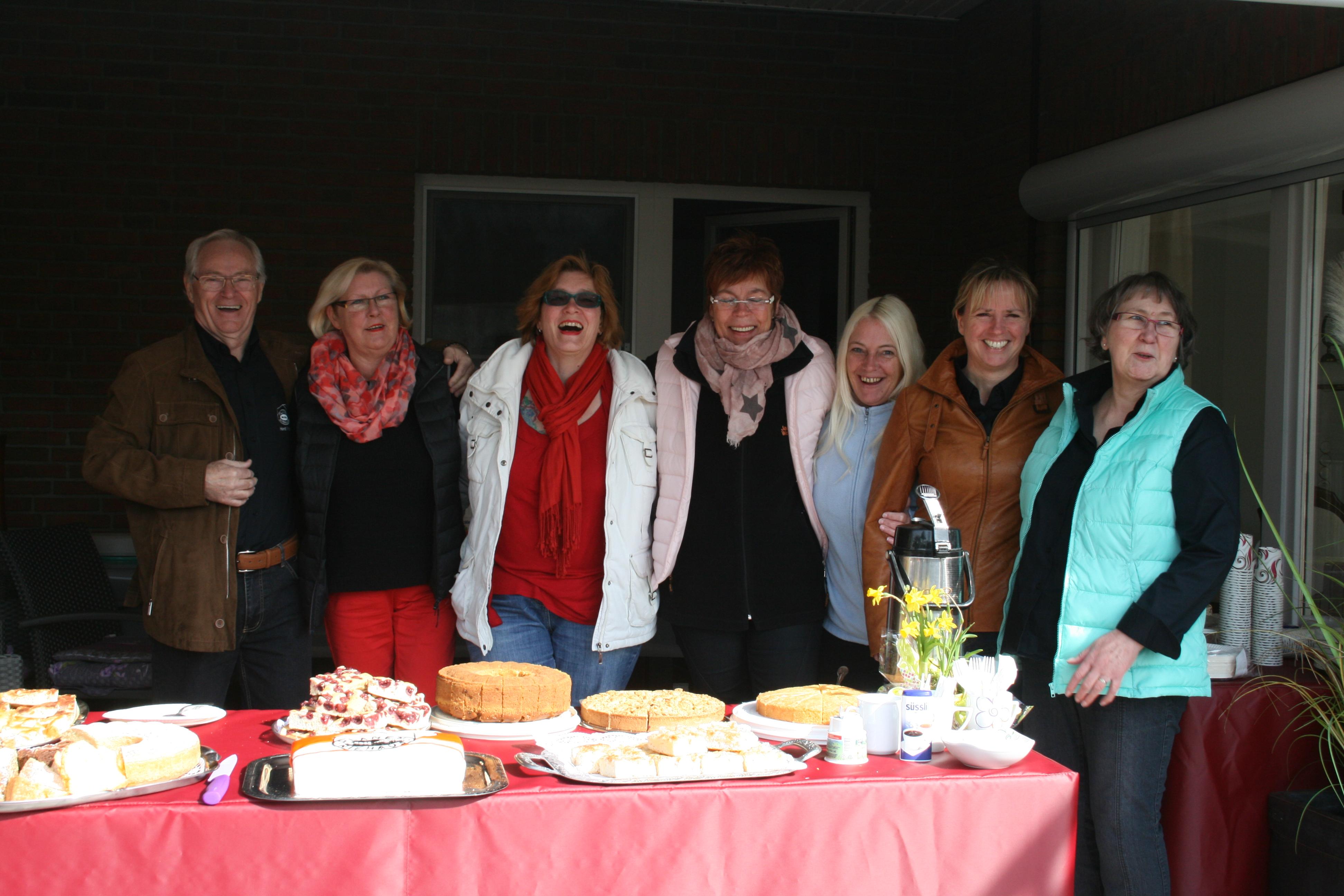 Tag der offenen Tür, Kuchenstation